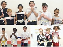 TMAP October Grading - Little Monkeys & Juniors